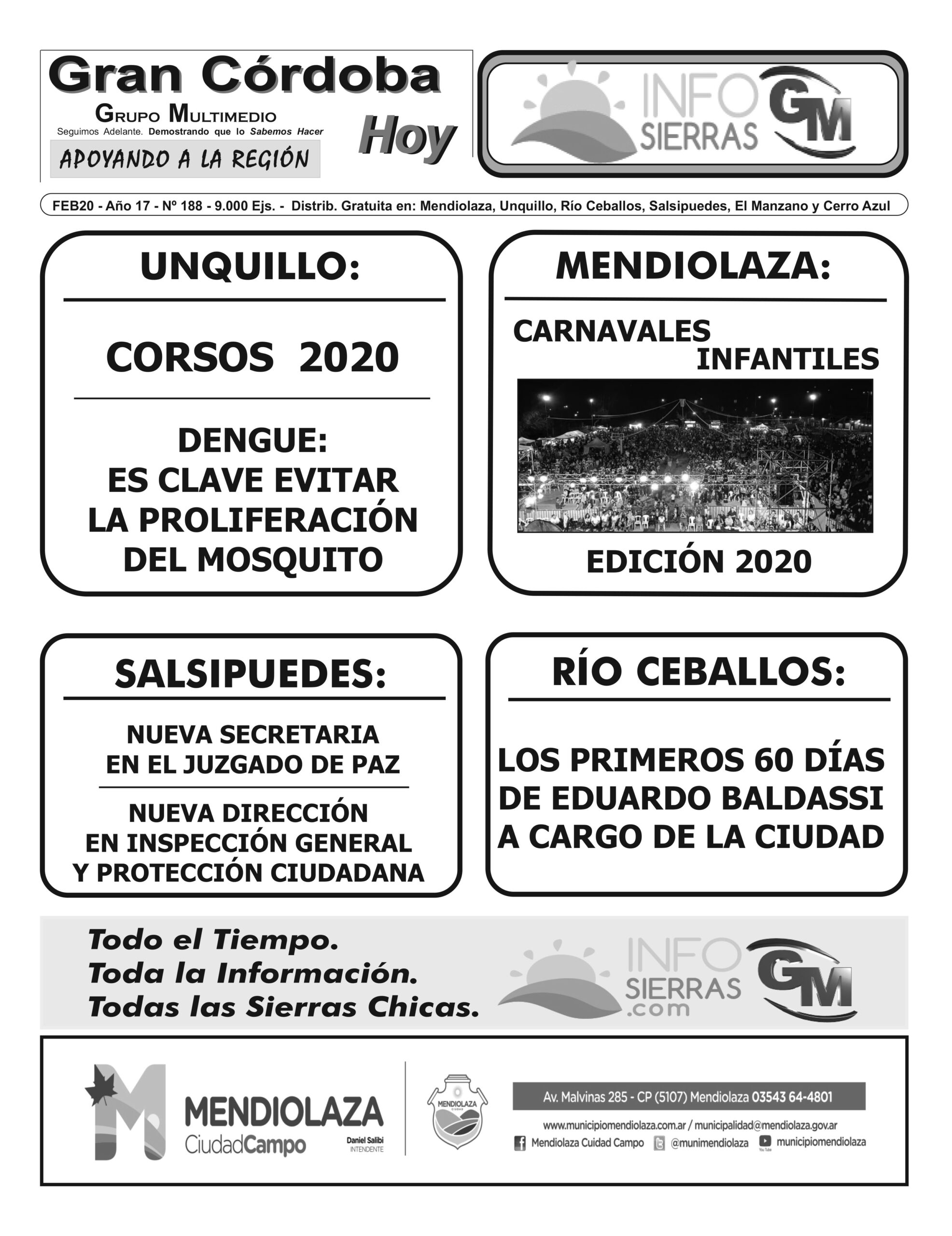 Edición 188 – Febrero 2020