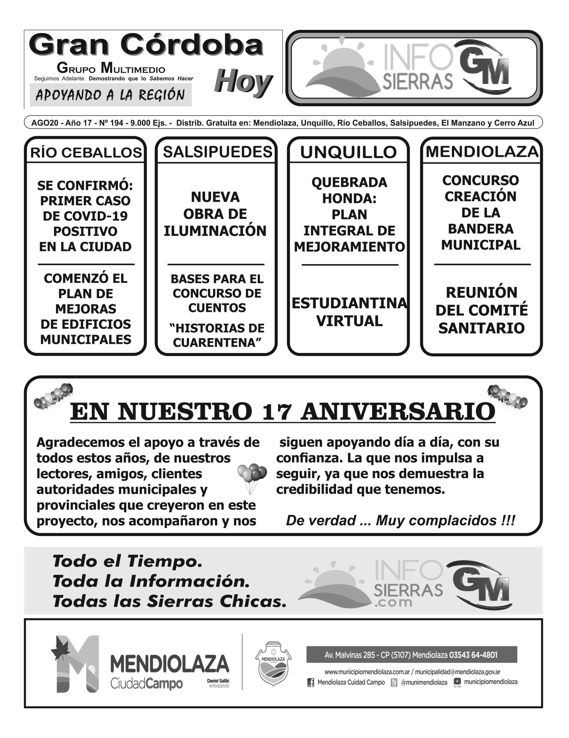 Edición 194 – Agosto 2020